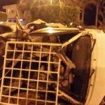 مصرع 6 أشخاص من عائلة واحدة فى حادث انقلاب سيارة