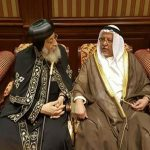 البابا تواضروس يحضر مأدبة غداء مع أمير الكويت بقصر البيان