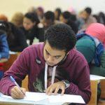 لحظة دخول صناديق امتحان اللغة العربية مدرسة السعيدية