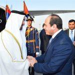 السيسي وولي عهد أبو ظبي يبحثان الحلول السياسية لأزمات دول المنطقة