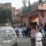 بالفيديو : تجمهر الاقباط امام قسم شرطة منشية ناصر