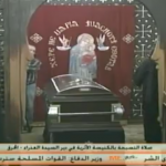 """الآن على هواء """"مي سات .. إلقاء نظرة الوداع على جثمان  الأنبا ساويرس"""