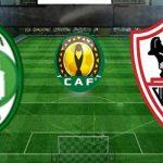 مباراة الزمالك وأهلي طرابلس على شاشة التليفزيون المصري