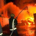 الحماية المدنية تسيطر على حريق الدائري