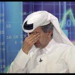 """رجل أعمال قطري يبكى خلال مقابلة مع """"الجزيرة"""" بسبب المقاطعة العربية"""