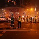 شاهد.. حريق ضخم في السعودية