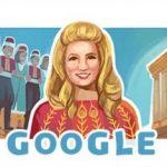 جوجل يحتفي بميلاد الشحرورة صباح