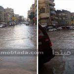 صور| الأمطار تغرق شوارع «الكيلو 21»