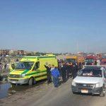 صور| ارتفاع عدد ضحايا أتوبيس عمال الإسكندرية