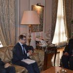 وزير الخارجية يبحث أزمات المنطقة مع سكرتير منظمة الأمن الأوروبية