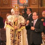 البابا تواضروس لـ السيسي: الله يعوضك بالخير عن كل المشروعات