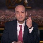 عمرو أديب يوجه رسالة إلى قناة الجزيرة