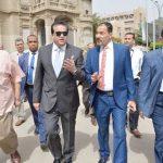 وزير التعليم العالي يزور جامعة عين شمس