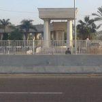 إجراءات أمنية مشددة في محيط برج العرب وإقبال جماهيري هزيل