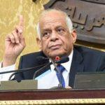 """رئيس البرلمان لمرتضى منصور فى الجلسة العامة: """"ارجع ورا"""""""