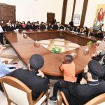 البابا تواضروس يلتقي بمسئولي الكرازة خارج مصر (صور)