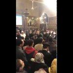 بالفيديو // جانب من صلاة جناز الراهب أوغريس من دير الأنبا بيشوي بوادي النطرون