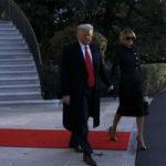 ترامب يغادر البيت الأبيض للمرة الأخيرة: أنجزنا الكثير وأحببنا الشعب الأمريكى