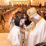 البابا تواضروس يقدم أساقفة آسيا وعين شمس والمطرية