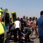 مصرع شخص وإصابة 5 آخرين في حادث تصادم بين سيارتين بنفق الشهيد أحمد حمدي