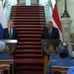 لافروف يدعو لحل أزمة سد النهضة بالتفاوض وشكرى يحذر من الإجراءات الأحادية