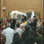 بالفيديو.. جزء من جنازة الراهب أشعياء المقاري