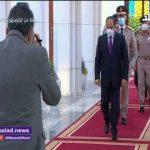 يتقدمهم الرئيس السيسي.. قيادات الدولة يحضرون شعائر صلاة العيد بمسجد الماسة.. فيديو