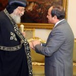 قداسة البابا يهنئ الرئيس السيسي بعيد الأضحى