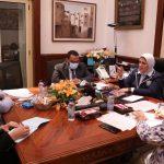 وزارة الصحة تعلن تفاصيل اجتماعها مع ممثل منظمة الصحة العالمية بمصر |صور
