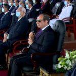 """الرئيس السيسى لخريجى كلية الشرطة: """"كونوا مثل عظيم ورائع للناس فى الشارع"""""""